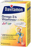 Davitamon Junior Omega-3 en Vitamines a,c,d & e