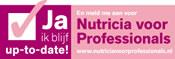 Meld u dan aan bij Nutricia voor Professionals!